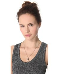 Pamela Love - Metallic Dart Necklace - Lyst
