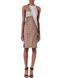 Roland Mouret Multicolor Sahara Dress