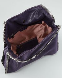 Stella McCartney Purple Falabella Big Tote Bag Berry