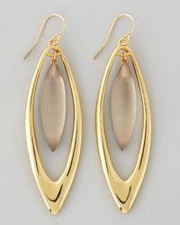 Alexis Bittar - Metallic Neo Boho Large Marquise Drop Earrings - Lyst