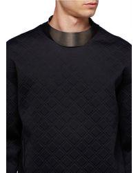 Lanvin - Gray Brass Collar for Men - Lyst