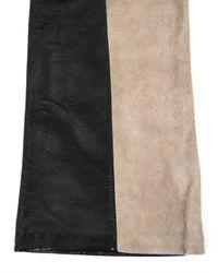 Max Mara - Black Ovatte Gloves - Lyst