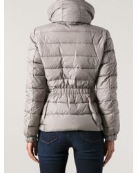 Moncler Gray Sanglier Padded Jacket