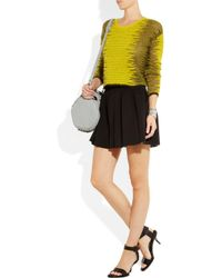 Alexander Wang Yellow Fine Knit Sweater