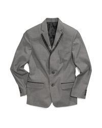 Calvin Klein - Gray Boys Pindot Blazer for Men - Lyst
