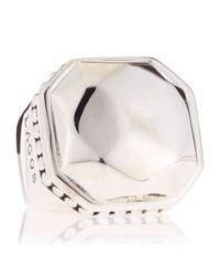 Lagos | Metallic Silver Rocks Ring Size 7 | Lyst