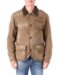 Ralph Lauren Natural Shapnor Mohawk Jacket for men