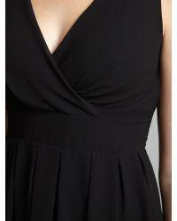 Wal-G Black V Neck Mini Dress