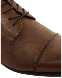 ALDO Brown Manzella Derby Shoes for men