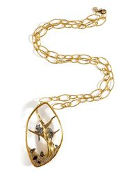 Alexis Bittar - Metallic Reliquary Pendant Siyabona Large Chain Necklace - Lyst