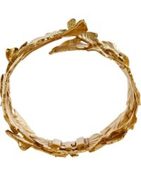 Aurelie Bidermann Metallic 'takayama & Tangerine' Bracelets