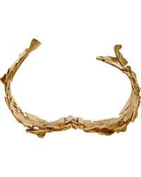 Aurelie Bidermann | Metallic Gold Tangerine Cuff | Lyst