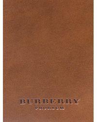 Burberry Prorsum Brown Leather Messenger Bag for men