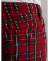 Denim & Supply Ralph Lauren Red Skinny Printed Jean