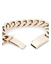 Givenchy | Metallic Shark Tooth Charm Bracelet | Lyst