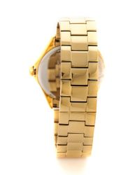 Kate Spade | Seaport Grand Watch - Gold | Lyst