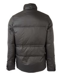 Paul Smith - Dark Green Hooded Down Jacket for Men - Lyst