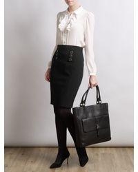 Somerset by Alice Temperley Black Pencil Skirt