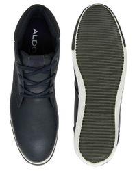 ALDO Blue Nereus Chukka Boots for men