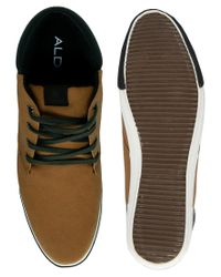 ALDO Brown Nereus Chukka Boots for men
