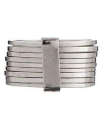 ASOS - Metallic Multipack Stacked Rings - Lyst