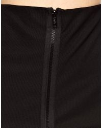 Cheap Monday Black Midi Pencil Skirt