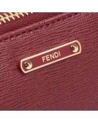 Fendi Red Fendi Crayon Chain Pouch Bag