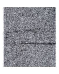 Givenchy Gray Wool Cape
