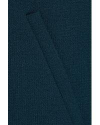 Goat Blue Redgrave Wool-crepe Coat