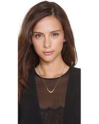 Gorjana - Metallic Aria Long Necklace - Gold - Lyst