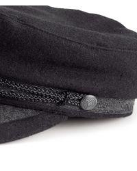 H&M Black Captains Hat
