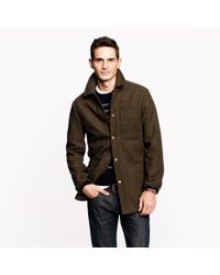 J.Crew Green Wallace Barnes Skiff Jacket with Thin Sulate for men