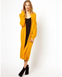 Just Female Yellow Kimono Cardigan