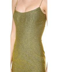 L'Wren Scott Metallic Allegory Of Love Dress