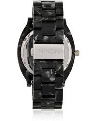 Nixon Metallic The Time Teller Acetate Watch