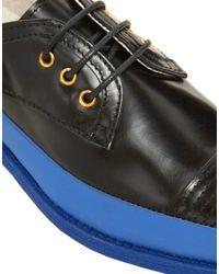 Swear Blue Vienetta 13 Lace Up Shoes