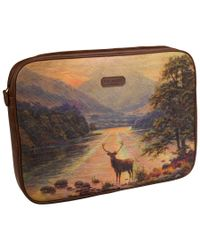 Ted Baker Multicolor Stag Laptop Sleeve