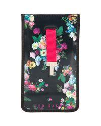 Ted Baker Multicolor Tutana Printed Iphone 5 Sleeve