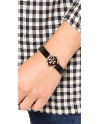 Tory Burch Metallic Walter Thin Bracelet