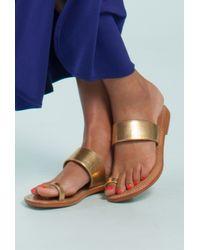 Trina Turk Metallic Palermo Sandal