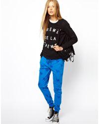Zoe Karssen Black Creme De La Creme Sweatshirt