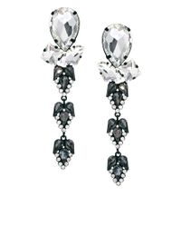 ASOS | Metallic Asos Premium Crystal Spear Earrings | Lyst