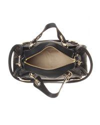 Chloé Black Paraty Medium Leather Shoulder Bag
