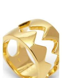 Eddie Borgo Yellow Bear Trap Ring