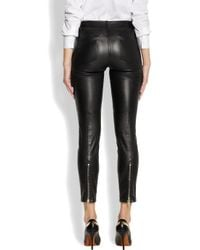 Givenchy | Black Leather Pants | Lyst