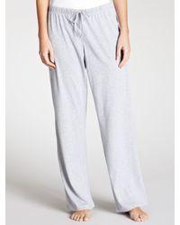 John Lewis Gray Long Pyjama Bottoms