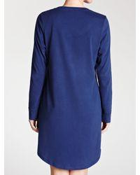 John Lewis Blue Nightdress