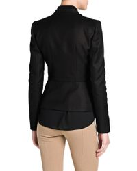 Mango Black Linen Jacket