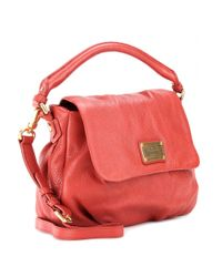 Marc By Marc Jacobs Red Lil Ukita Leather Shoulder Bag