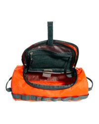 The North Face Orange Base Camp Wash Bag for men